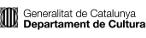 Generalitat de Catalunya. Deartament de Cultura